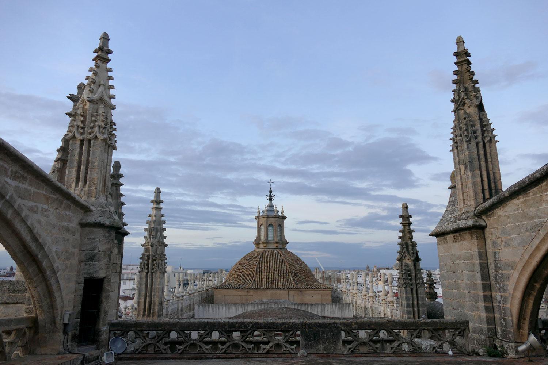 cubiertas catedral sevilla