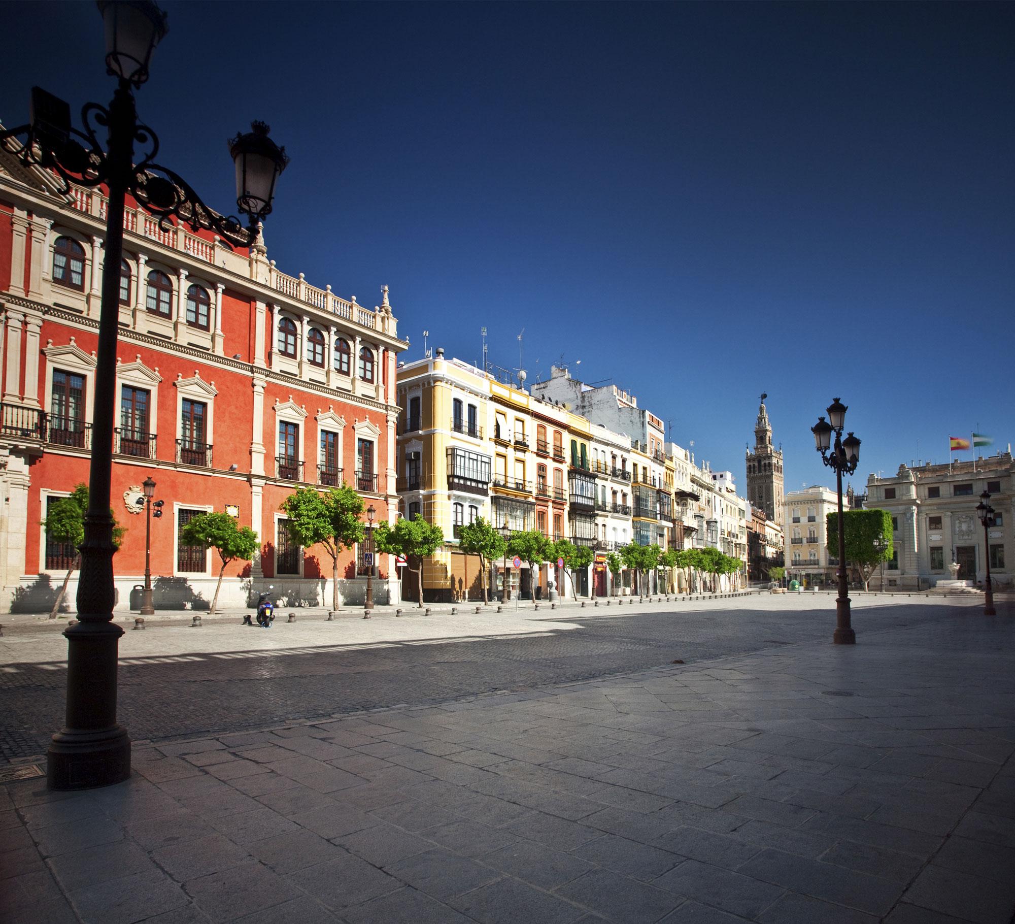 Plaza de San Francisco de Sevilla