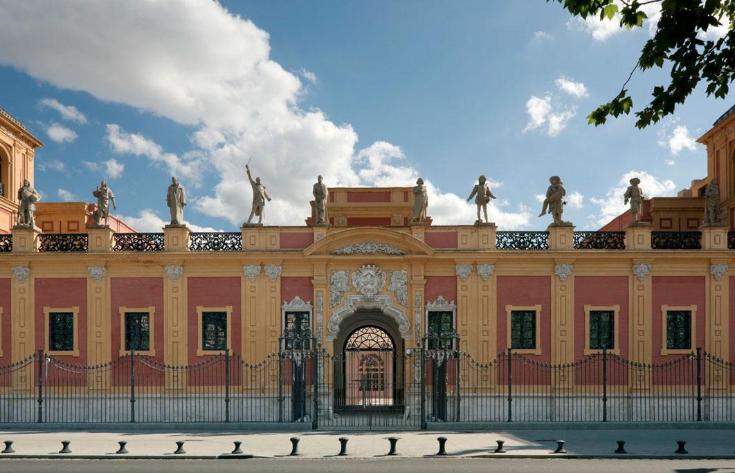 Fachada norte del Palacio de San Telmo de Sevilla (foto: Duccio Malagamba).