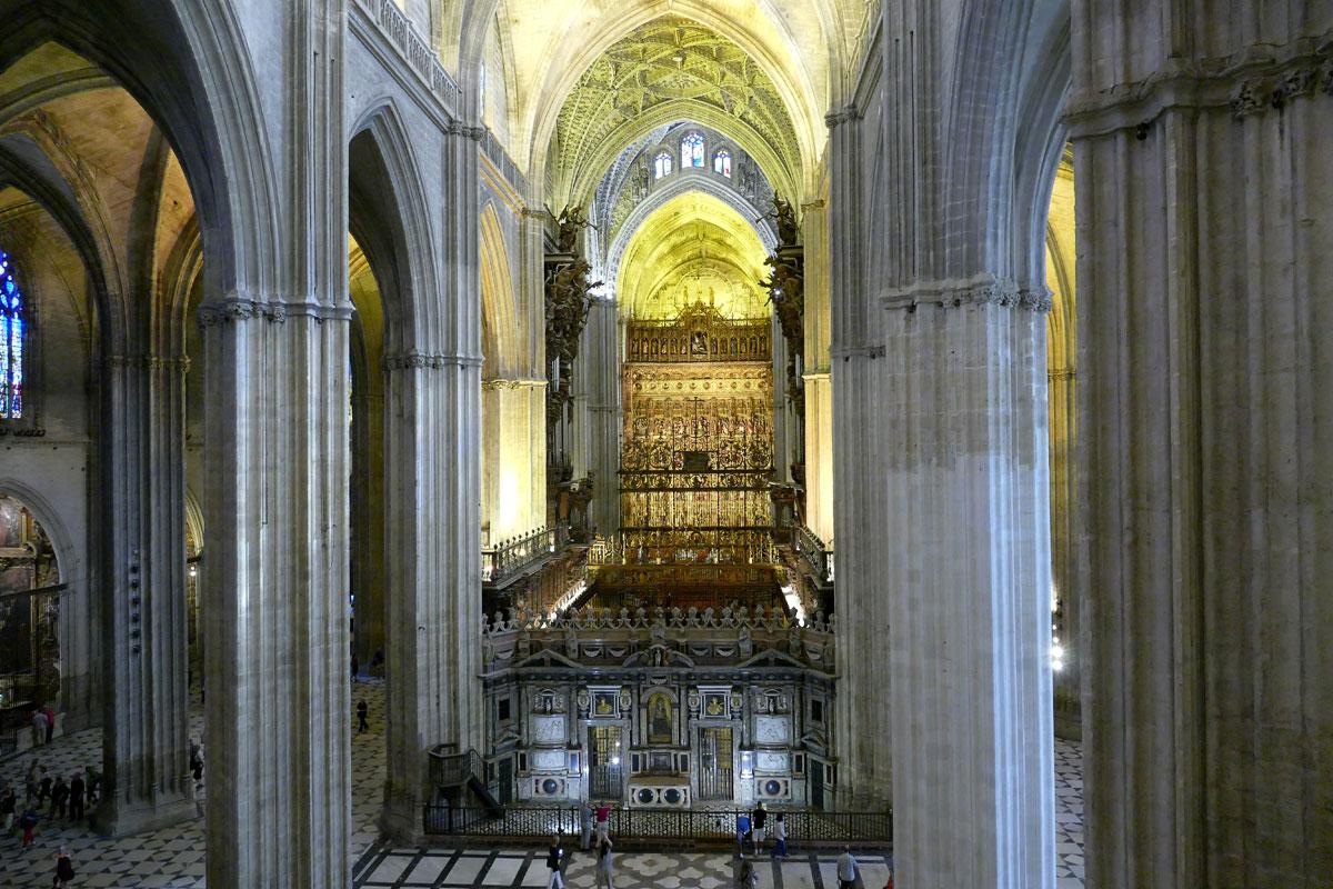 retablo mayor catedral sevilla
