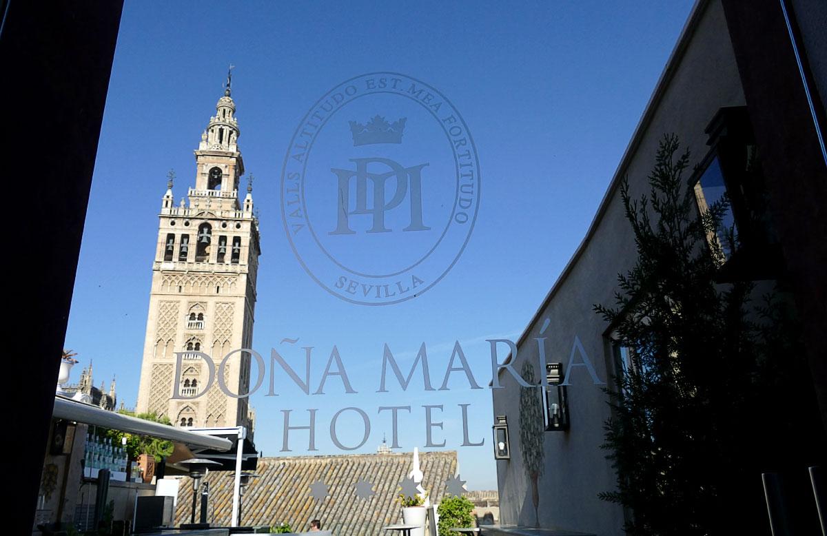 Terraza Hotel Dona María
