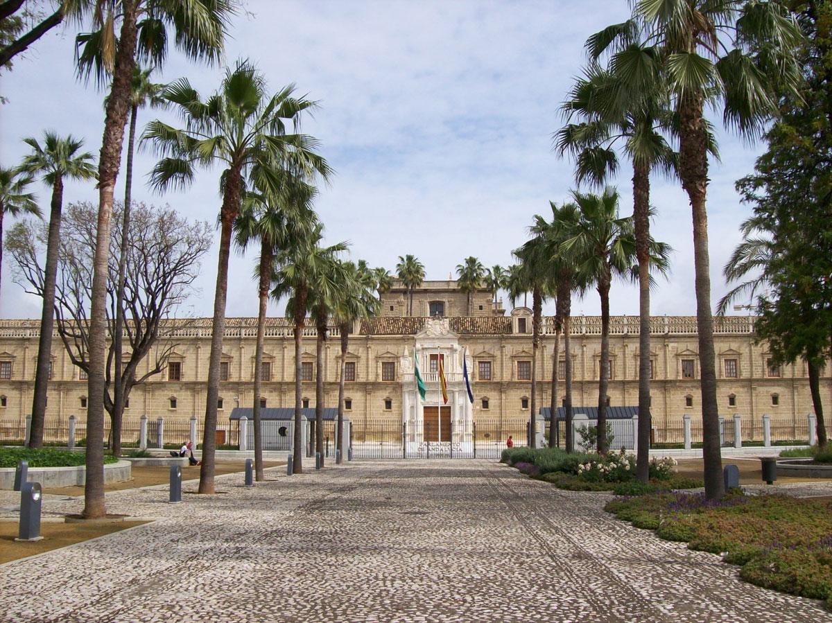 Hospital Cinco Llagas sede Parlamento Andalucia Sevilla