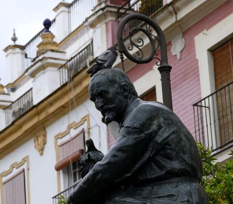 La estatua de Martínez Montañés