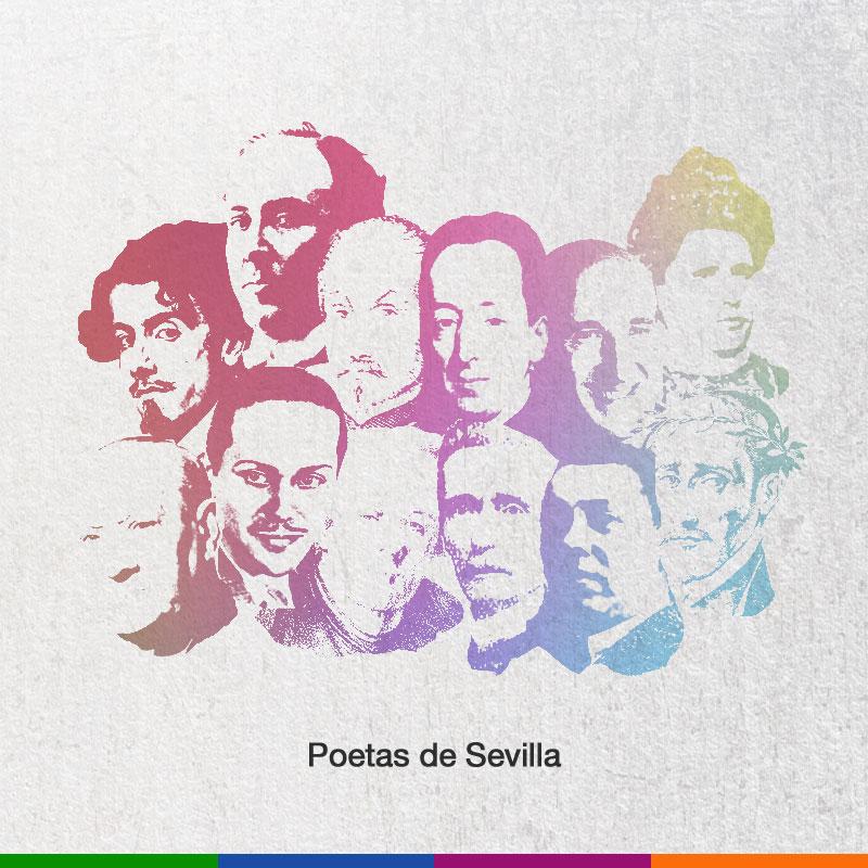 Ilustracion poetas Sevilla
