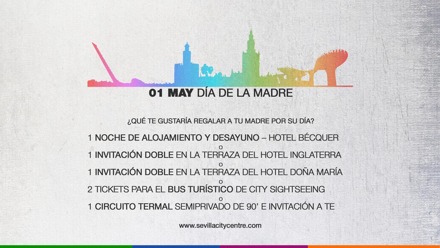 Promocion dia Madre en Sevilla City Centre