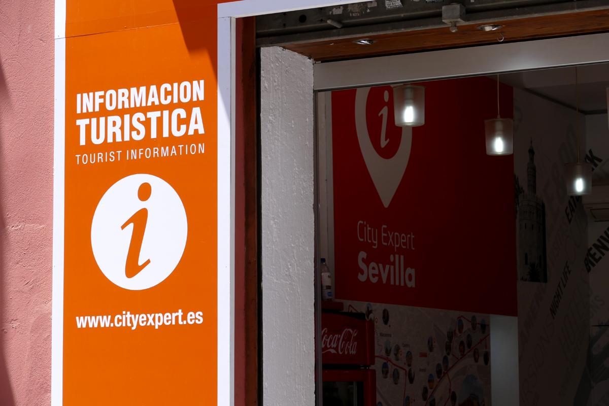 punto venta informacion servicios turisticos city expert calle hernando colon sevilla