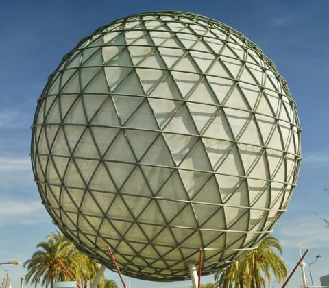 La bola climática, símbolo de la Expo 92
