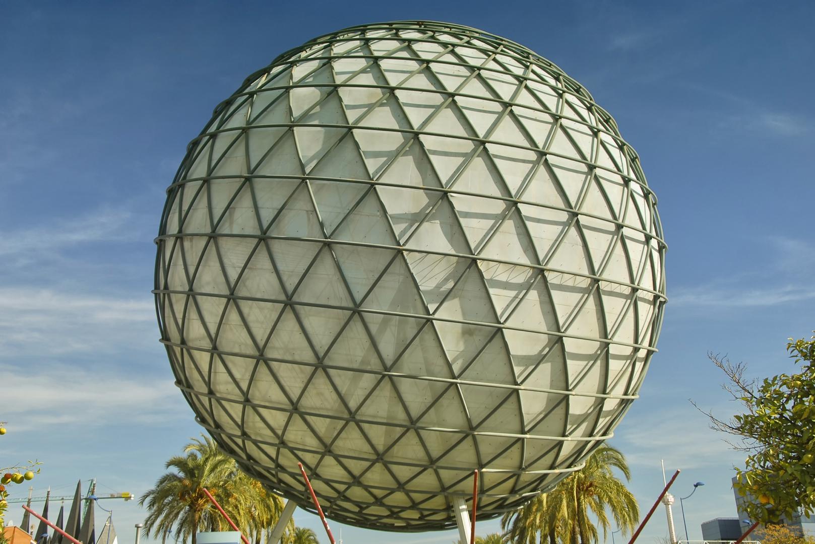 bola de la expo sevilla