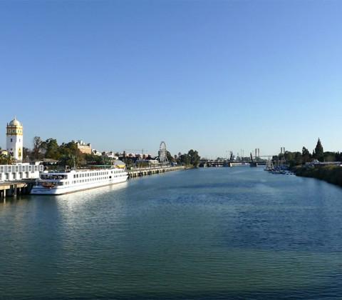 El Guadalquivir, el río de Sevilla