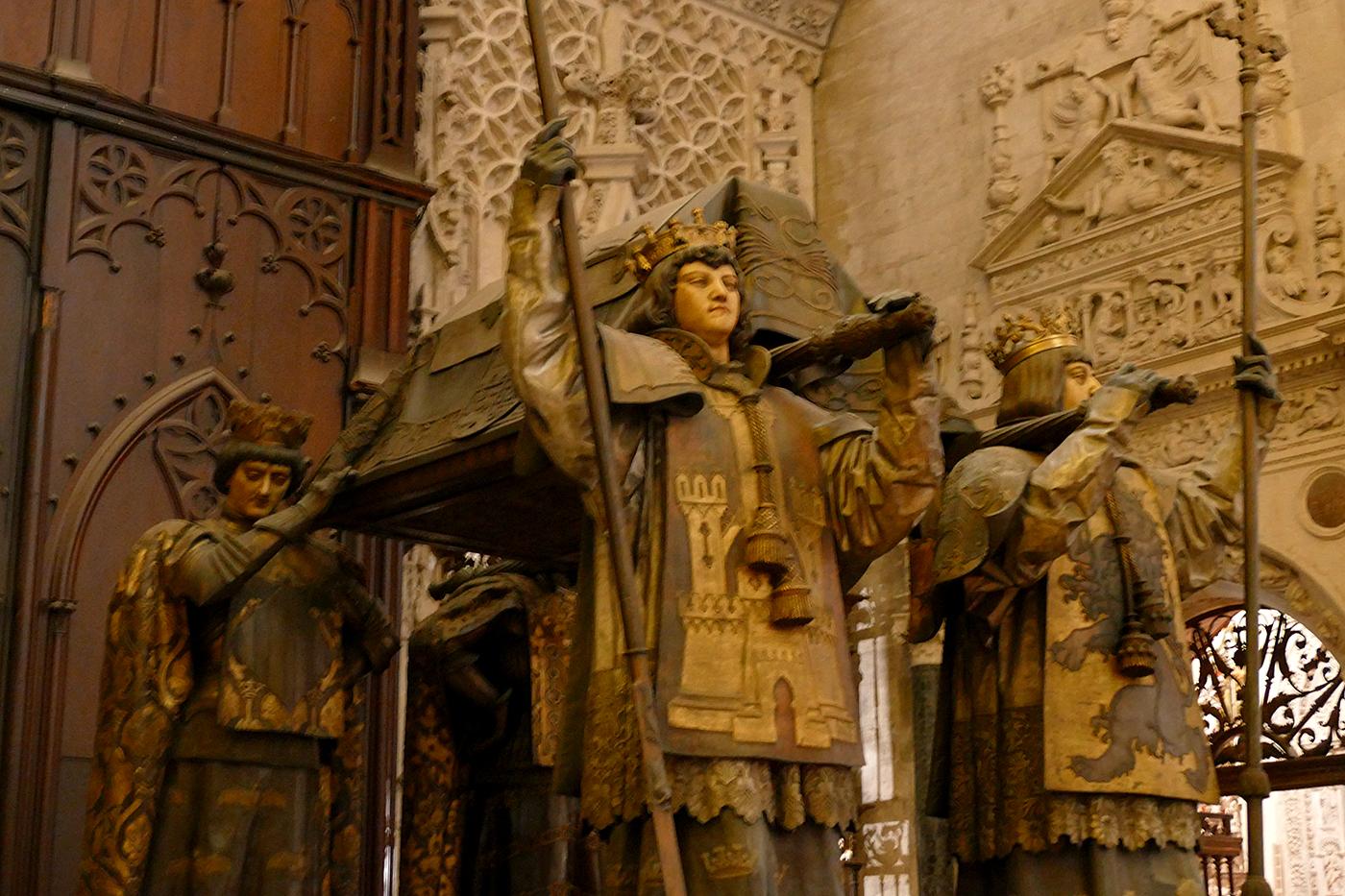 mausoleo cristobal colon catedral sevilla
