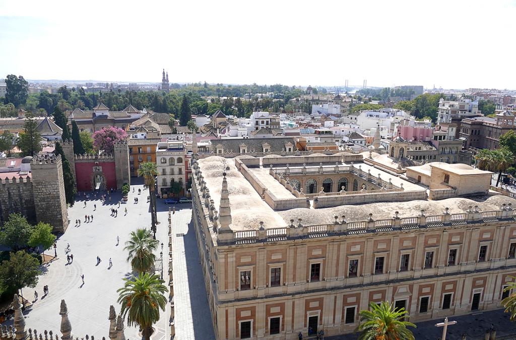 vista sevilla catedral