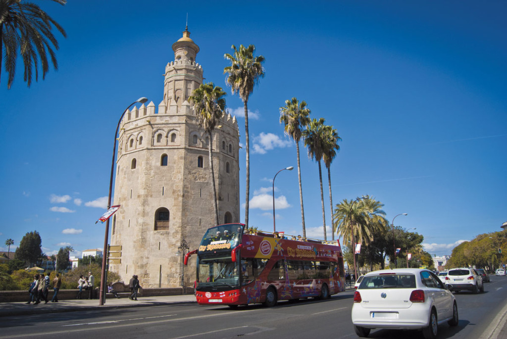 bus panoramico city sightseeing sevilla