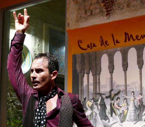 Flamenco en el Centro Cultural Casa de la Memoria