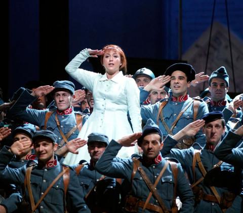«La Fille du Régiment» en el Teatro de la Maestranza