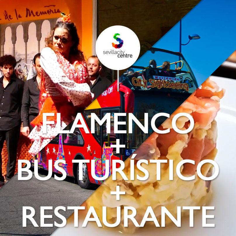 flamenco casa memoria bus turistico city sightseeing restaurante taberna alabardero sevilla