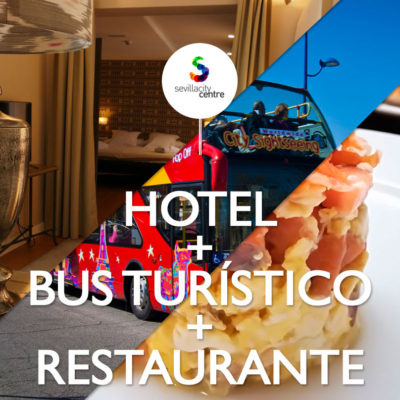 hotel bus turistico city sightseeing restaurante taberna alabardero sevilla