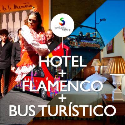 hotel flamenco bus turistico sevilla