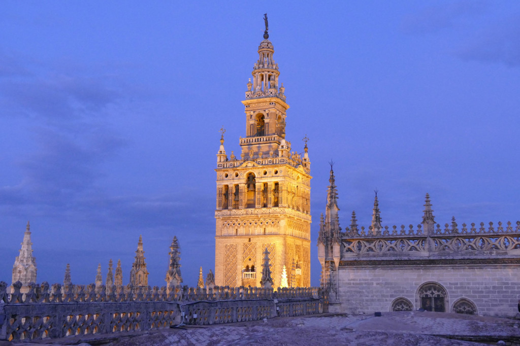 sevilla giralda cubiertas catedral
