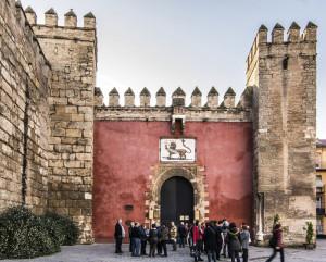 Puerta del León del Real Alcázar