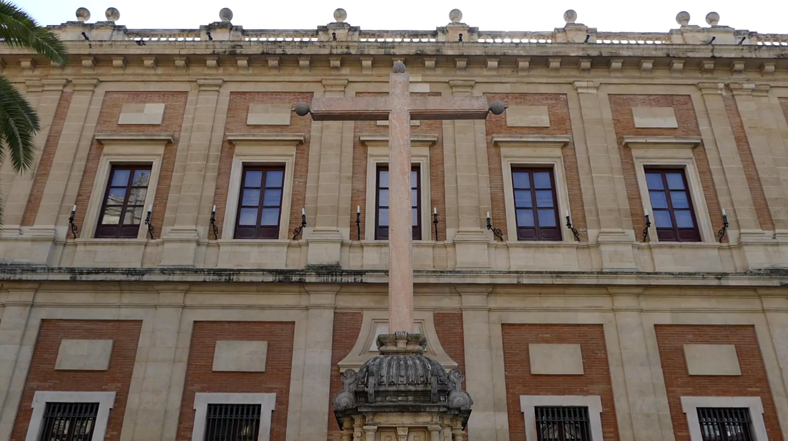 cruz juramento antigua casa lonja sevilla