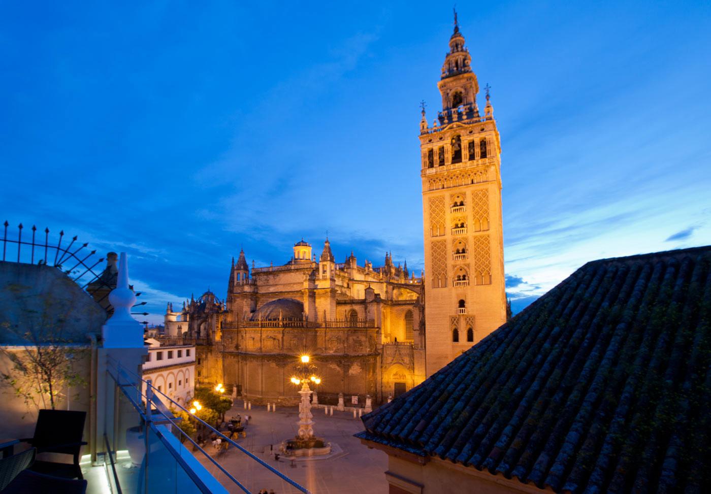 Vistas desde el Hotel Doña María