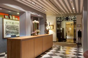 Recepción del Hotel Doña María