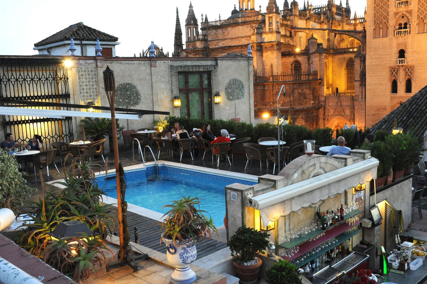 Terraza Hotel Doña María