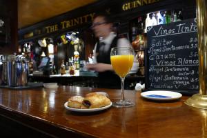 Irish Pub The Trinity, en el Hotel Inglaterra de Sevilla