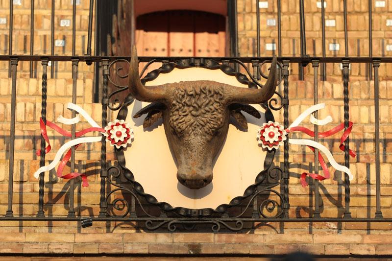 Detalle Plaza de toros de la Maestranza