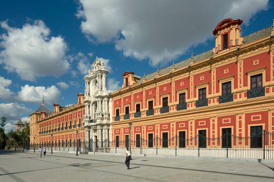 Palacio de San Telmo de Sevilla (foto: Duccio Malagamba).