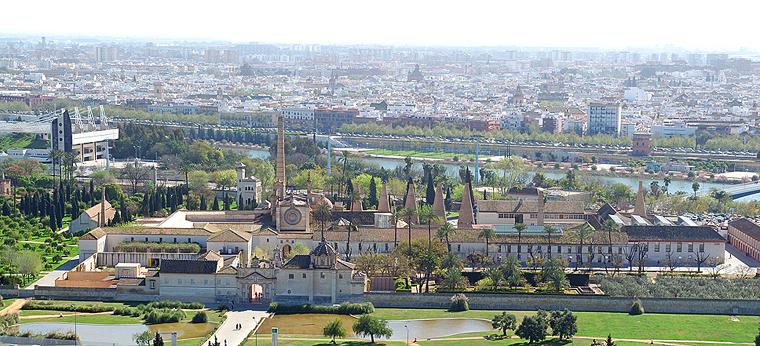 Vista panorámica del Monasterio de la Cartuja (Foto: CAAC)