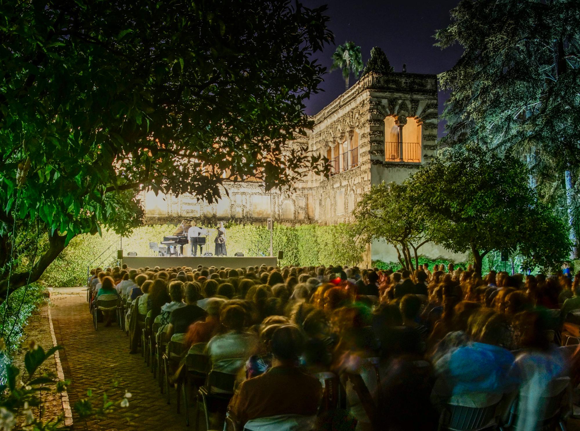 Noches en los Jardines del Alcázar en Sevilla (foto: Jaime Pérez / Actidea)