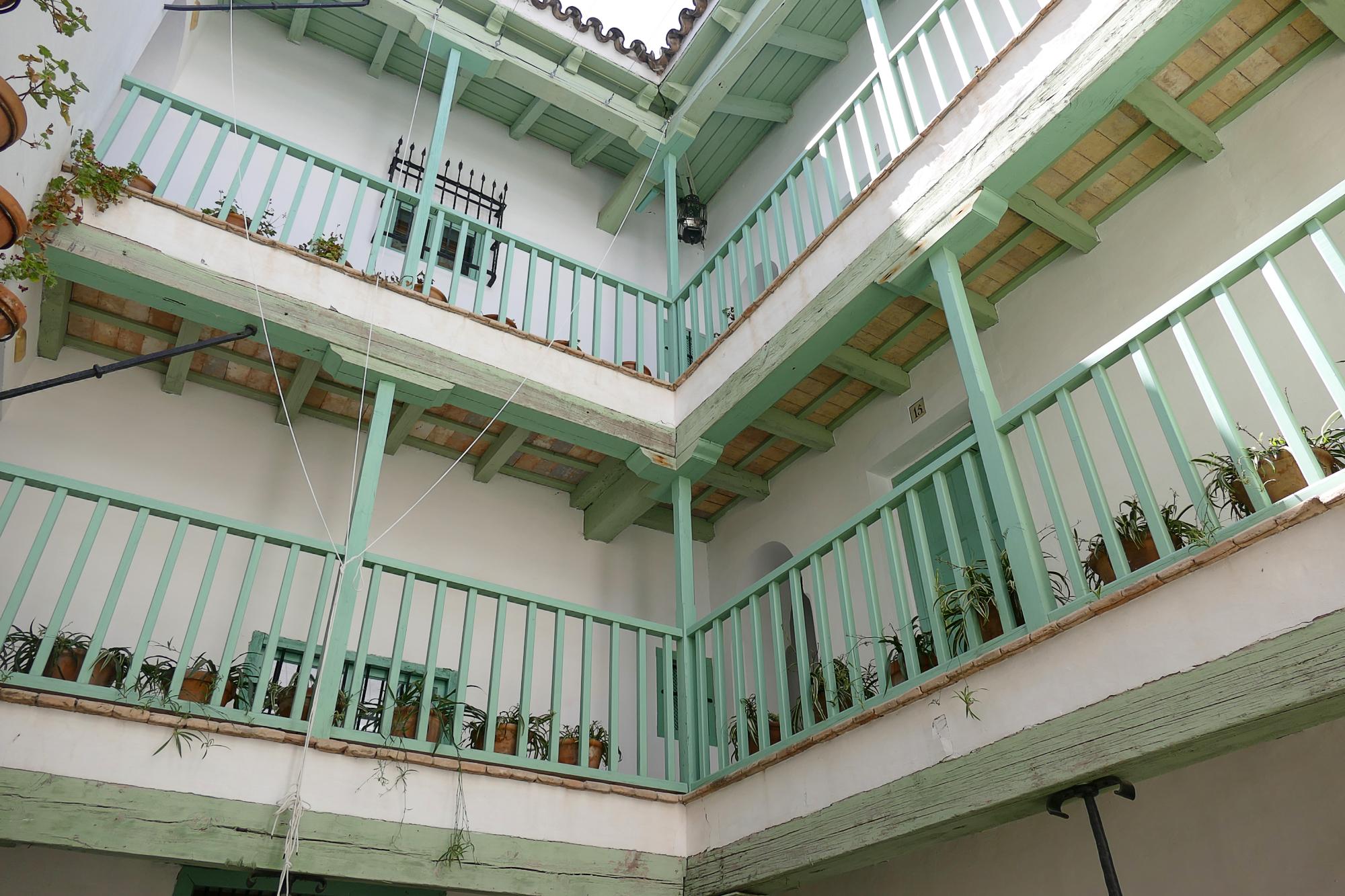 Patio del hotel Las Casas de la Judería de Sevilla.
