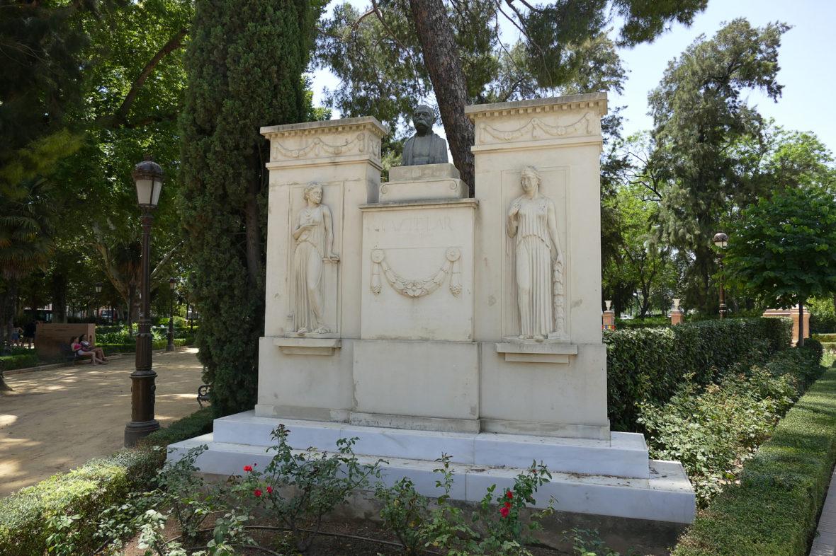 Jardines de Cristina, en Sevilla