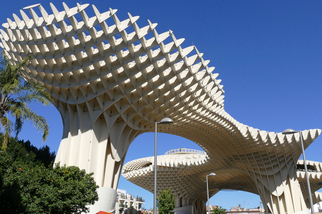 Metropol Parasol, en la Plaza de la Encarnación de Sevilla