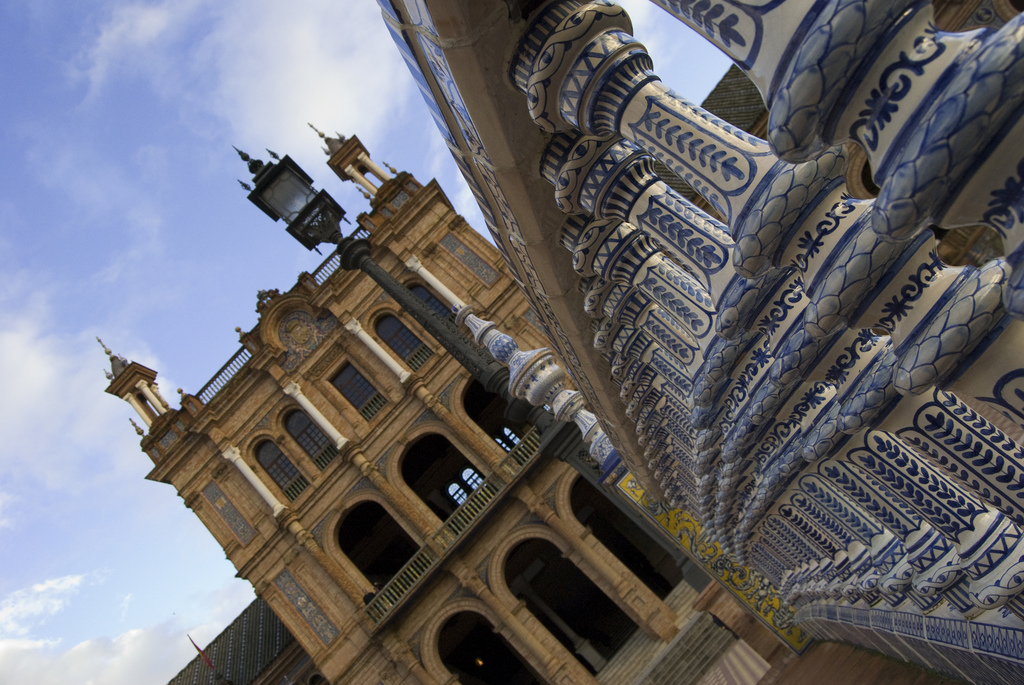 plaza espana sevilla spain
