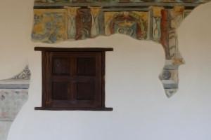 detalle antiguo real monasterio santa clara sevilla