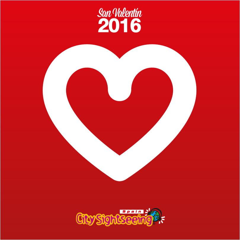 San Valentin 2016 City Sightseeing