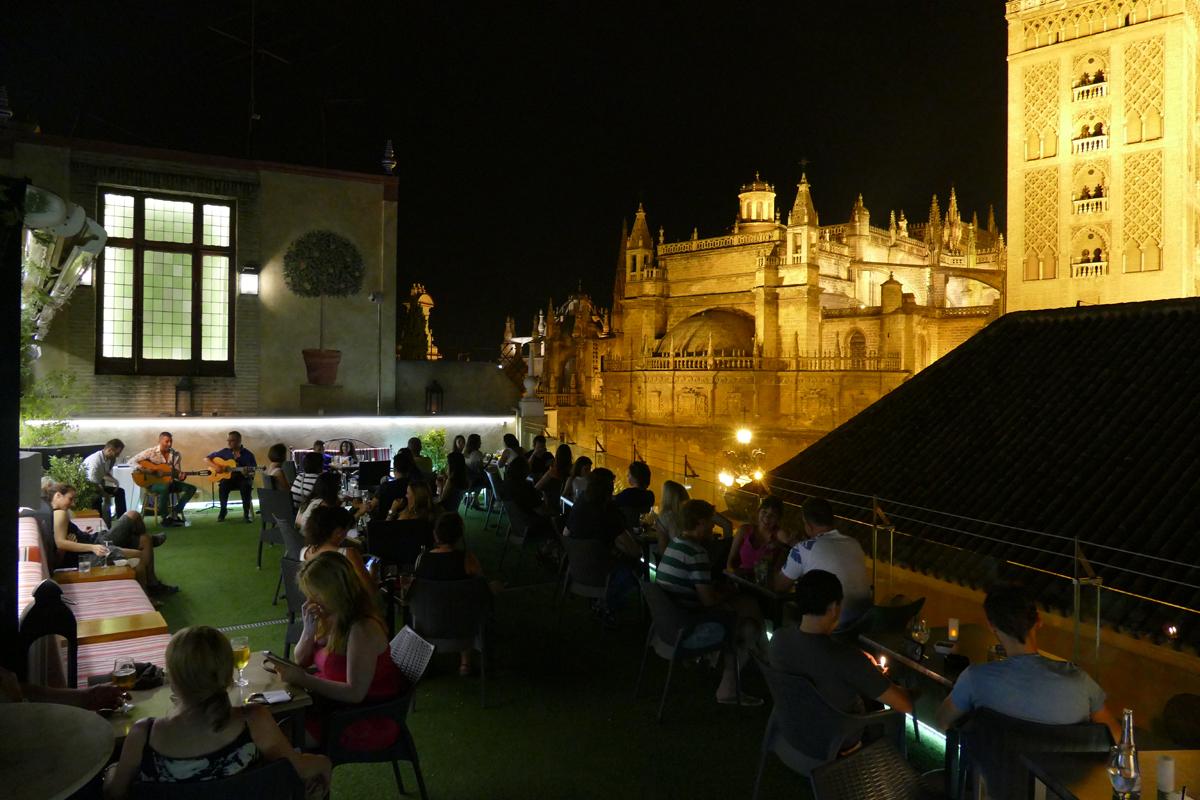 Terraza Hotel Dona Maria Sevilla City Centre