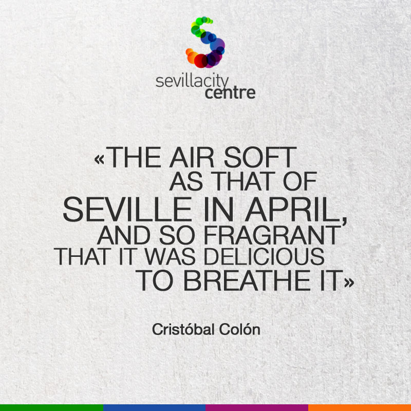 frase cristobal colon sevilla