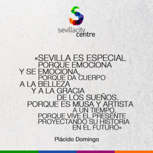 frase sevilla placido domingo