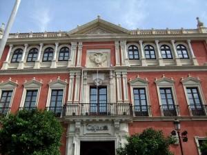 Antigua sede Real Audiencia Sevilla Fundacion Cajasol