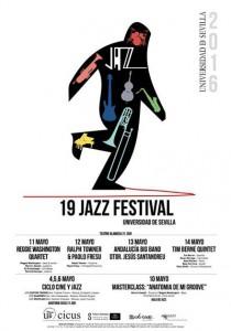 Cartel 19 Festival Jazz Universidad Sevilla