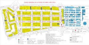 Callejero Feria Abril Sevilla Toreros Calles