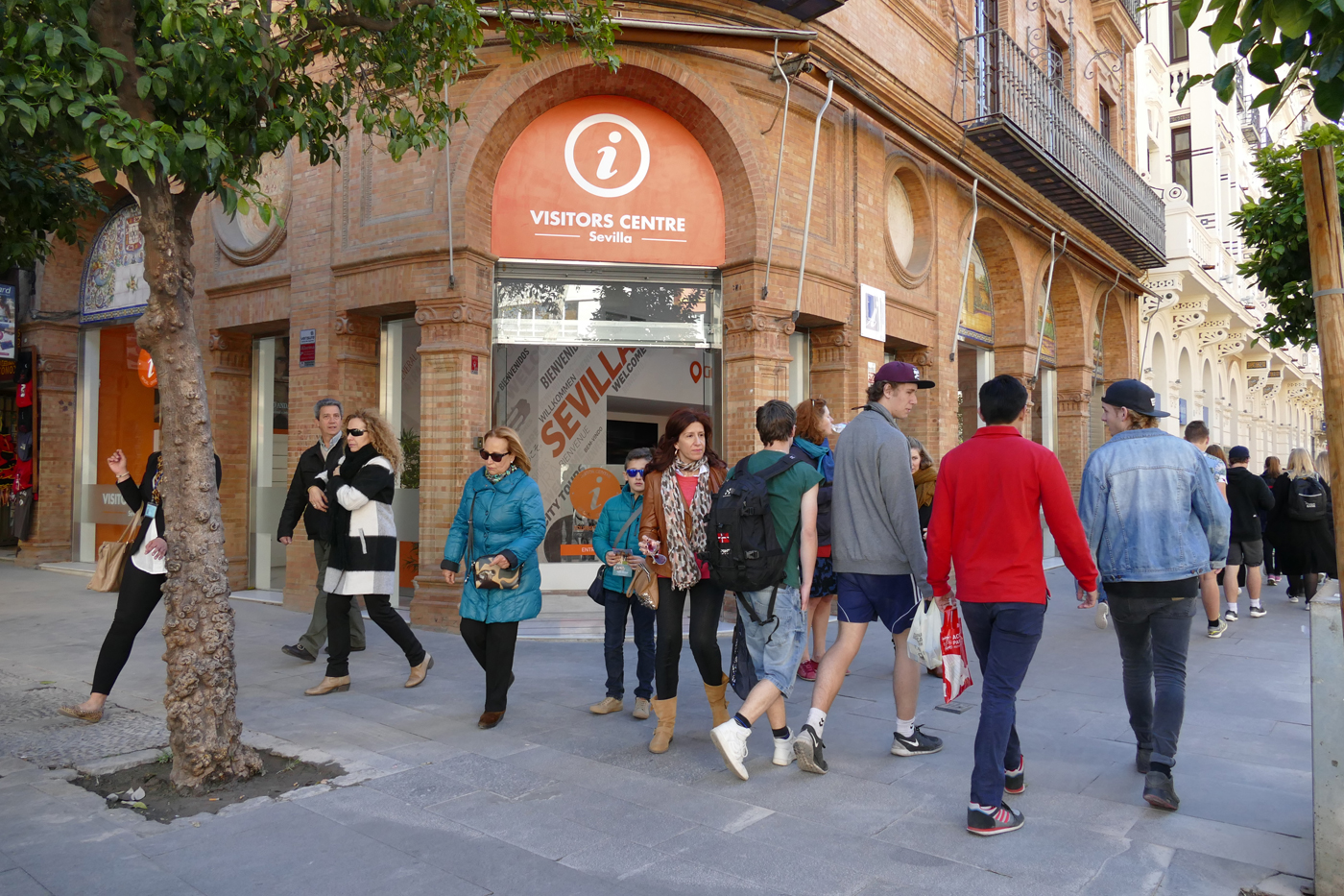Visitors Centre City Expert Avenida Constitucion Sevilla