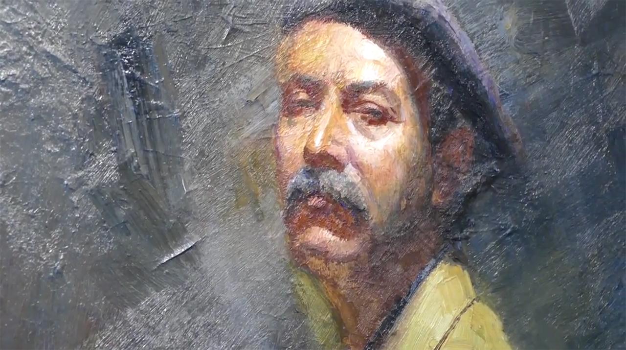 Pintor Amalio Garcia Moral