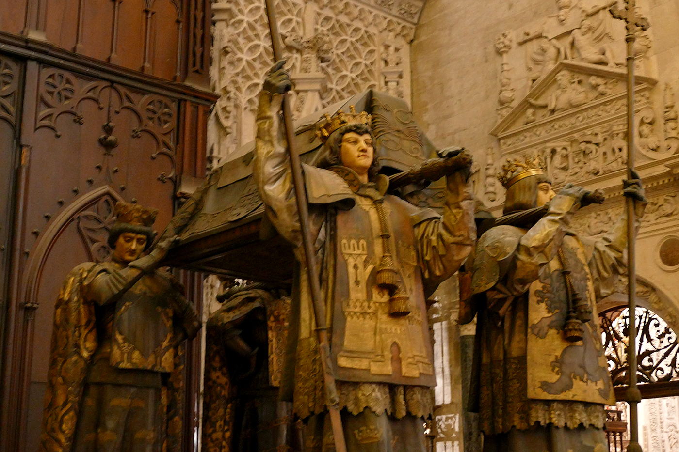 mausoleo cristobal colon catedral sevilla