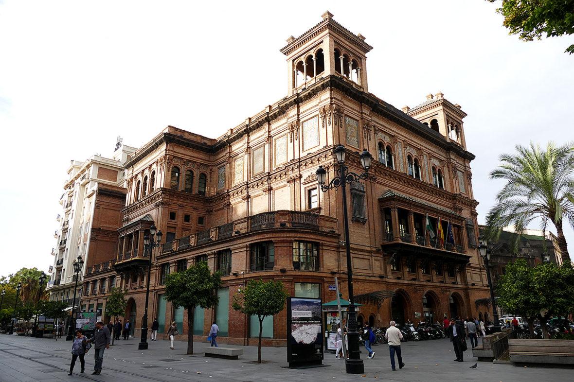 antiguo teatro coliseo avenida constitucion sevilla