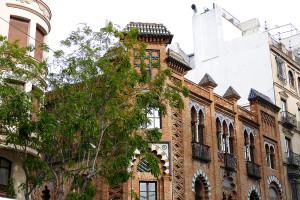 edificio martin villa sevilla regionalismo
