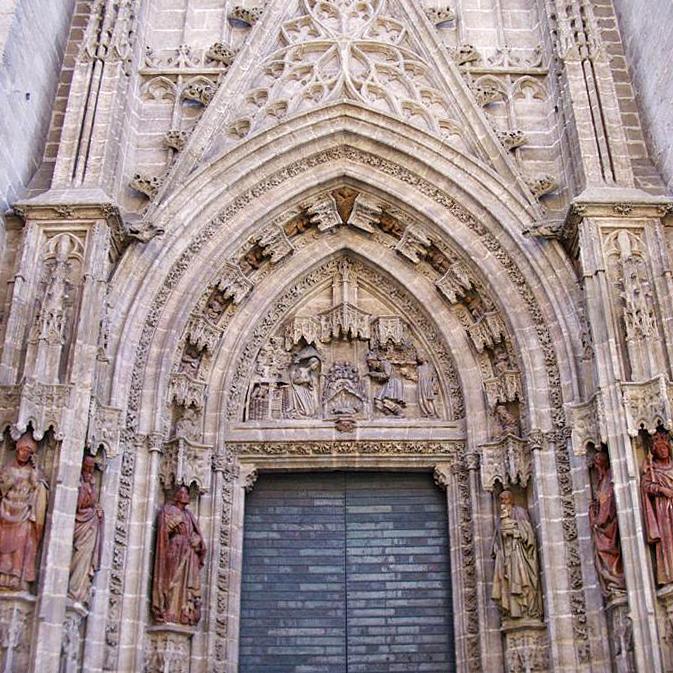 puerta nacimiento catedral sevilla